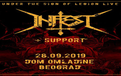 Infest – Live In Belgrade 2019