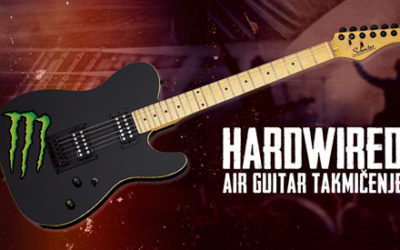 Hardwired Air Guitar takmičenje 2020