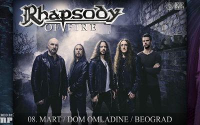 Rhapsody Of Fire konačno u Srbiji