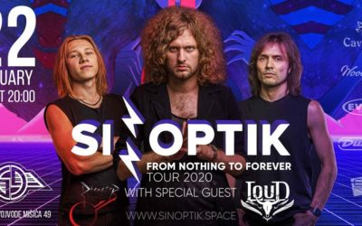 Ukrajinski power rock trio Sinoptik prvi put nastupa u Beogradu