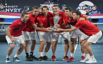 Šampioni! Teniserima Srbije prvi ATP kup!