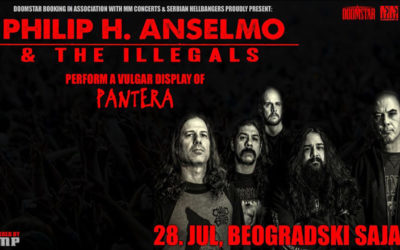 Philip H. Anselmo & The Illegals u Beogradu!