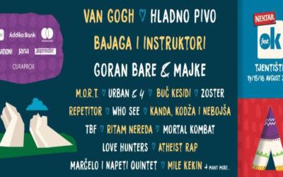 OK fest na Tjentištu od 14. do 16. avgusta