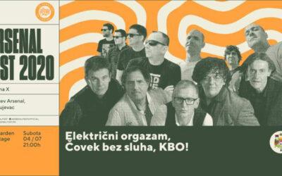 Arsenal Fest 10 otvaraju Električni orgazam, Čovek bez sluha i KBO!