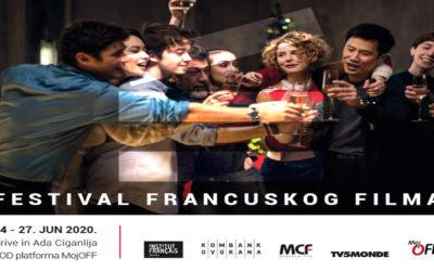 Drugi Festival francuskog filma u Drive in bioskopu na Adi od 24. do 27. juna