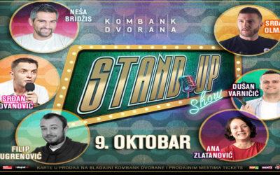 Novi datum velike stand up priredbe zakazane za 1. apri je 9. oktobar u velikoj sali Kombank dvorane