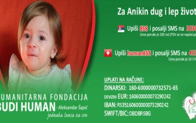 FEST #ZaAniku – Humanitarni koncerti za Aniku Manić