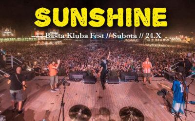 Sunshine na zatvaranju bašte kluba Fest
