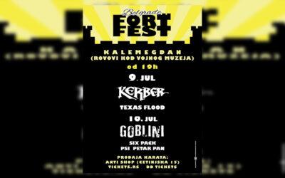 Kerber i Goblini na prvom Belgrade Fort Festu
