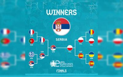Srbija osvojila eEURO 2021 prvenstvo u PES-u