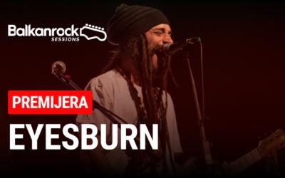 "Eyesburn otvorio serijal online koncerata ""Balkanrock Sessions"""