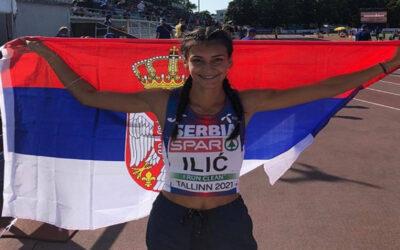 Milanovčanka Ivana Ilić osvojila srebro na Evropskom juniorskom prvenstvu