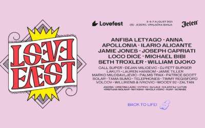 Jubilarno izdanje Lovefesta od 5. do 7. avgusta u Vrnjačkoj Banji