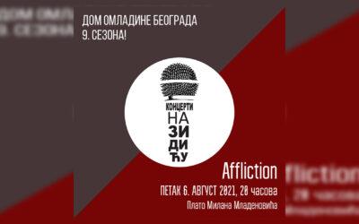 Koncert na Zidiću: Affliction