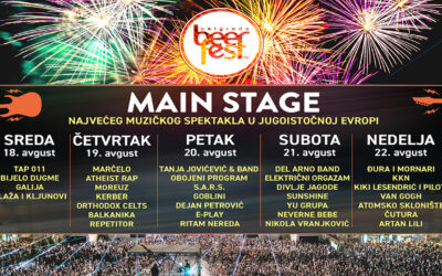 Belgrade Beer Fest od 18. do 22. avgusta na Ušću