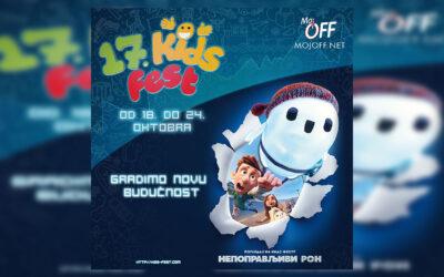Veliki izbor filmova za najlmađe na 17. Kids festu