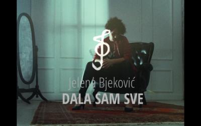 """""""Dala sam sve"""" – prvi singl harizmatične gitaristkinje Jelene Bjeković"""