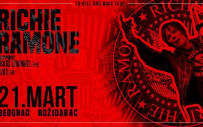 Richie Ramone u Božidarcu 21. marta
