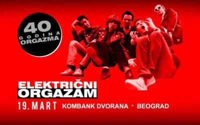 Električni orgazam slavi 40. rođendan u Kombank dvorani