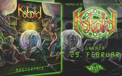 Kobold, Slave Pit, Amor's Arrows i Wicked Ways u Garaži 29. februara