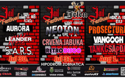 Prvi Jail Fest od 30. jula do 1. avgusta u Bačkoj Topoli
