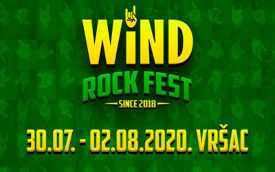 Wind Rock Fest, drugi po redu, od 30. jula do 2. avgusta u Vršcu