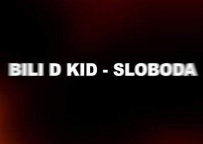 """Bili D Kid ima novu pesmu """"Sloboda"""" upakovanu u tekstualni video"""