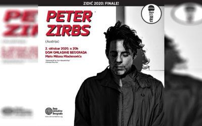 Peter Zirbs u finalu koncertne sezone na Zidiću Doma omladine Beograda