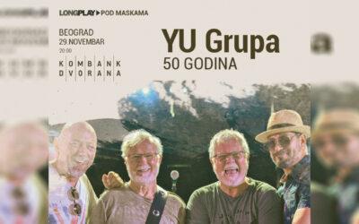 Rođendanski koncert Yu grupe za pola veka postojanja