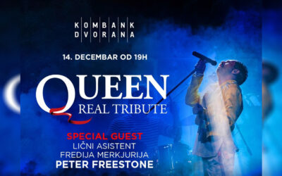 Queen real tribute 14. decembra ponovo u Kombank dvorani