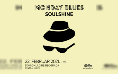 Nastavak koncertnog programa MONDAY BLUES u Domu omladine Beograda