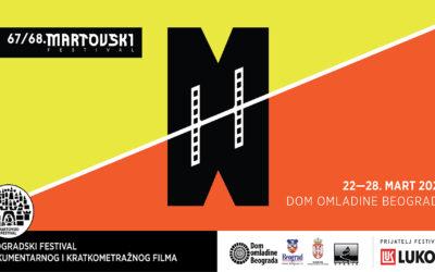Svečano otvoren 67/68. Martovski festival u Domu omladine Beograda