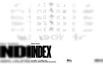 """Izložba """"Index"""" Darka Vukića u Galeriji DOB"""