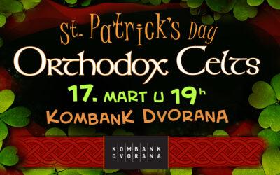 Ortodox Celts u Kombank dvorani