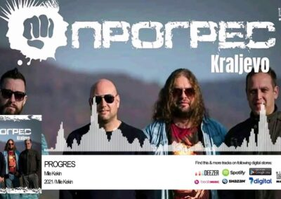 """Progres objavio dupli singl – """"Mile Kekin"""" i """"Nije nam važno"""""""