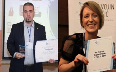 Mladen Šljivović i Vesela Mačkić u trci za najboljeg nastavnika sveta 2021.