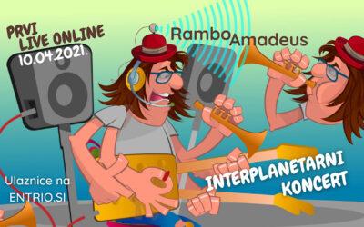 Rambo Amadeus – Interplanetarni Koncert – Subota, 10.04.2021