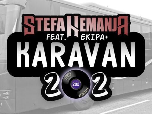 Stefan Nemanja i Ekipa snimili spot za Karavan 202