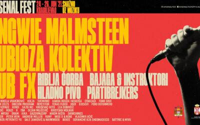 Arsenal Fest 11 od 24. do 26. juna u Kragujevcu
