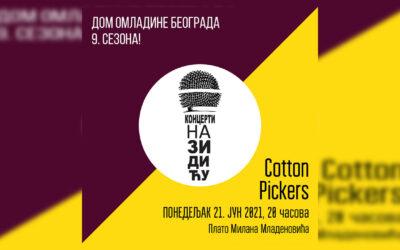 Cotton Pickers za početak devete sezone Koncerata na Zidiću DOB