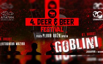 Deer & Beer fest 6. i 7. avgusta na gradskoj plaži u Apatinu