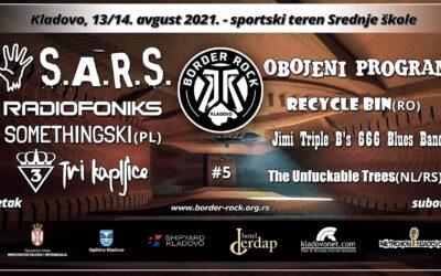 Peti po redu Border Rock Festival 13. i 14. avgusta