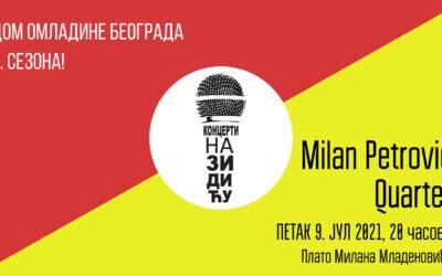 Milan Petrović Quartet na Zidiću DOB povodom 10 godina autorskog rada
