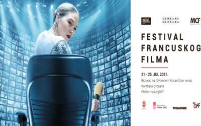 Festival francuskog filma od 21. do 25 jula u Kombank dvorani, Bioskopu na otvorenom i MojOff platformi