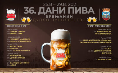 36. Dani piva u Zrenjaninu