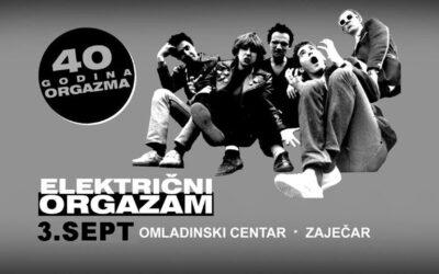 Električni orgazam stiže u Zaječar 3. septembra
