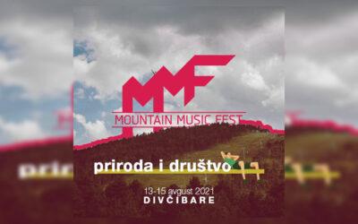 Mountain Music Fest od 13. do 15. avgusta na Divčibarama
