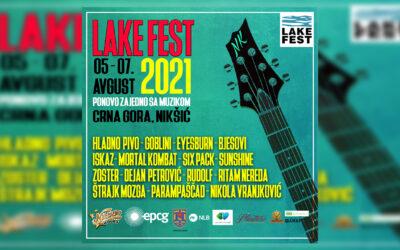 Lake fest u Nikšiću od 5. do 7. avgusta