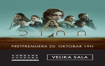 """Mitska avantura """"Dina"""" 20. oktobra pretpremijerno u Kombank Dvorani"""